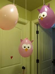 owl balloons pinning with purpose owl party