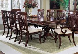 Wood Dining Table Design Dining Room Great Classic And Elegant Chateu Cross Leg Table