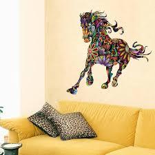 fangeplus tm colour beautiful horse diy removable art mural vinyl fangeplus tm colour beautiful horse diy removable art mural vinyl waterproof wall stickers kids