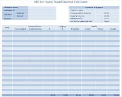 Trip Expense Tracker by Useful Ms Excel And Word Templates For Business Owners