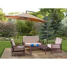 Outdoor Patio Set With Umbrella Patio Furniture Literarywondrous Outdooratio Set With