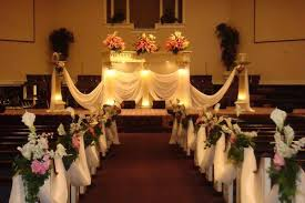 pew decorations for weddings pink and black table centerpieces small church wedding