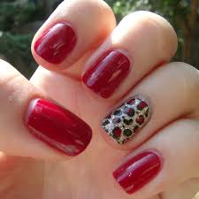 cool french tip nail designs gold speck nails using a french