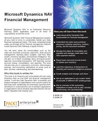 microsoft dynamics nav financial management amazon co uk