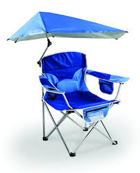 Collapsible Camping Chair Modern Beach Chair With Umbrella Attached Beach Theme Camping