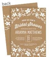 make your own bridal shower invitations bridal shower invitations make send your own invites cardstore
