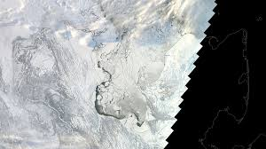 Satellite Map Live Satellite Imagery Shows Just How Bad The Loss Of Arctic Sea Ice