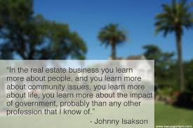 Best Quotes For Business Cards Johnny Isakson Real Estate Quotes Easy Agent Pro
