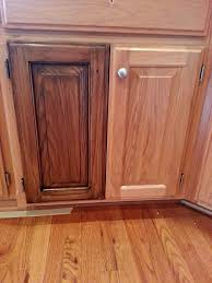 how to stain oak cabinets a darker color savae org