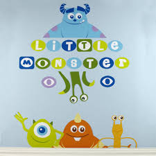 wall decals charming monsters inc wall decals monsters inc