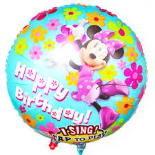 singing balloon singing minnie balloon disney floral and gifts