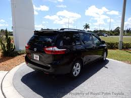 2017 new toyota sienna le fwd 8 passenger at royal palm toyota