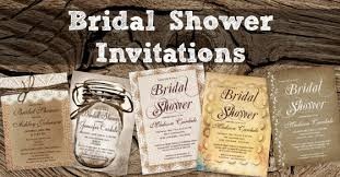 custom bridal shower invitations country bridal shower invitations rustic country wedding invitations