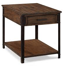 Distressed Wood End Table Reclaimed Wood End Table Reclaimed Wood Entry Table Barnwood