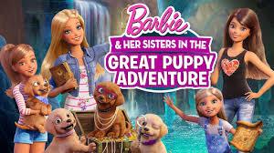 barbie u0026 sisters puppy chase movie barbie cartoon