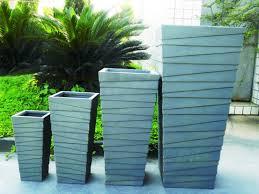 pots modern large planters planter mid century outdoor plant