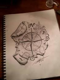 map drawing tattoo google search tattoos pinterest drawing