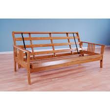 futon armless futon frame superior pine full size futon