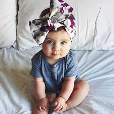 baby girl headwraps turban headband children kids diy bowknot headbands baby