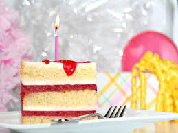 blue birthday cake with candle hd birthday wallpapers for mobile