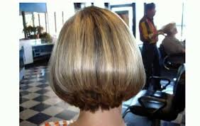 inverted bob hairstyle pictures rear view back views of short stacked haircuts youtube
