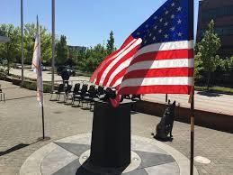 Fallen Officer Flag Clackamas County Fallen Officer Memorial Plaza Update Clackamas