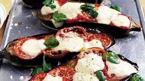 cuisiner aubergine four aubergines mozzarella au four cuisine ta mère