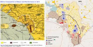 Kurdistan Map Ethnographic Map Of The Nineveh Plain 1910 Vs 2014 Kurdistan