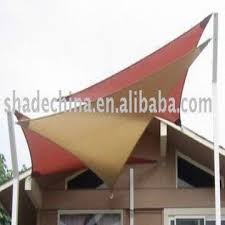 triangle hdpe fabric sun shade sail for balcony global sources