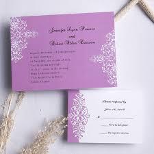 Lavender Wedding Invitations Purple Wedding Invitations Cheap Wedding Invitations Free