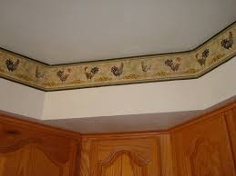 are wallpaper borders out of my entry dining room kitchen