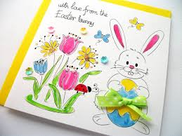bright beautiful easter greeting cards