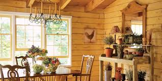 Log Home Interior Decorating Ideas by Lucinda Rooney Vermont Log Cabin Log Cabin Decorating Ideas