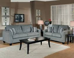 Modern Sofa And Loveseat Grey Fabric Modern Living Room Sofa Loveseat Set