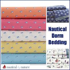 Nautical Home Decor Canada Nautical By Nature Dorm Decor Nautical Bedding