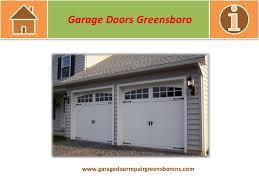 Overhead Door Greensboro Nc Garage Doors Greensboro Nc Ppi