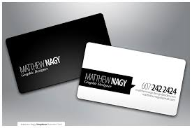 Minimal Design Business Cards Minimal Black U0026 White Business Card Design With Great Typography