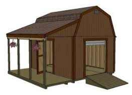 Free Barn Plans Barn Shed Plans Use A Longer Overhang To Cover The Boat Shed