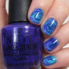 water swirl nail art choice image nail art designs
