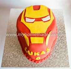 iron man cake my homemade cakes
