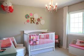 Nursery Wall Decor Ideas Beautiful Baby Nursery Wall Color Ideas With White Baby Room