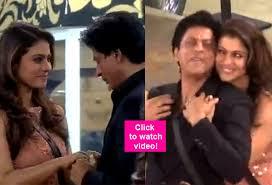 Shahrukh Khan House Shah Rukh Khan Kajol Perform Gerua Inside The Bigg Boss 9 House