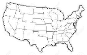United States Map States by United States Outline Map Usa Map Outline Usa Map Outline Usa Map