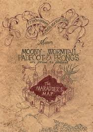 Harry Potter Marauders Map Marauder U0027s Map By Zenturtle651692 On Deviantart