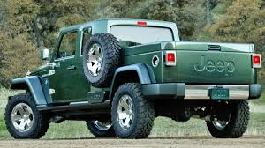 jeep pickup comanche report a jeep wrangler pickup is in the works autoweek
