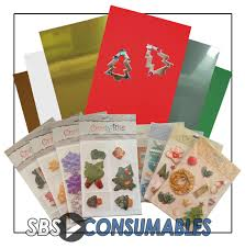 christmas mixed card making craft pack office supplies uk