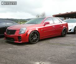 lowered cadillac cts 2005 cadillac cts niche targa hr lowering springs