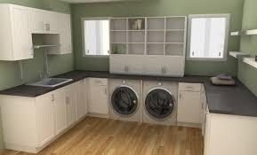 basement bathroom laundry room combo interior design