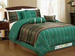Chocolate Bed Linen - turquoise and brown bedding madison park martinique queen coverlet