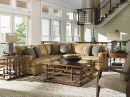 key west living room with blended furnishings key west tommy bahama home at baer s furniture miami ft lauderdale